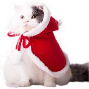 disfraces de Navidad para gatos